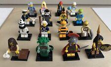 LEGO Series 10 Minifigure Set LOT 71001 Minifig BUMBLEBEE GIRL Medusa SAD CLOWN+