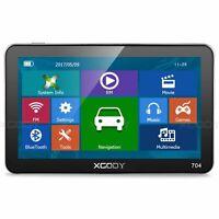 XGODY 704 7'' SAT NAV GPS Touch Screen Bluetooth 8GB Portable GPS Systems NAVI