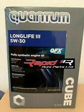 Quantum Longlife Fully Synthetic 3 5w30 quantum 5w-30  Engine Oil 5 Litres NEW