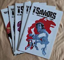 The Saviors #1 #2 #3 #4 #5 (5 Comic Lot - Complete Run) - Image Comics