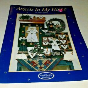 ANGELS IN MY HOME Nancy Odom Timid Thimble Creations 24pg Quilt Patterns booklet