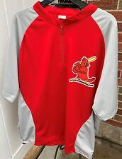 St Louis Baseball Cardinals Men's Sga Batting Practice Shirt Jacket Size Xl