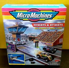 HTF NIB Micro Machines Big Daddys Drag Strip Hiways Byways Playset Galoob 1998