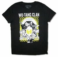 Wu Tang Clan Kung-Fu Black T Shirt New Official Rap Hip Hop Killa Bees