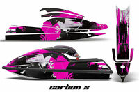 Jet Ski Graphics Kit Decal PWC Wrap For Kawasaki JS 750 SX 1992-1998 CARBONX PNK