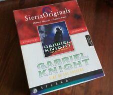Gabriel knight sins of the fathers x pc primo capitolo Big box