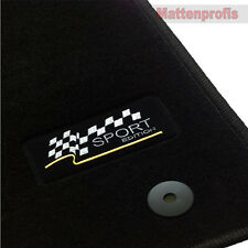 OPEL Astra J à partir de Bj. 12/2009 - sport logo velour tapis de sol/voiture tapis 4 pcs