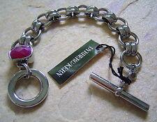 Rhodiniertes Armband Barin SS / Pink von Dyrberg Kern