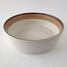 Mikasa Potters Art Ben Seibel Vegetable Serving Bowl Buckskin Brown Vtg MCM