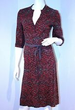 PART TWO Work Long DRESS with BELT Burgundy 2 $130 FREE SHIPPING