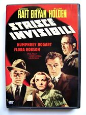 Dvd Strisce invisibili con William Holden e Humphrey Bogart 1939 Usato raro