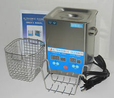 DSA70SE-SK2 3L 3.17QT 270W DIGITAL HEATED INDUSTRIAL ULTRASONIC PARTS CLEANER