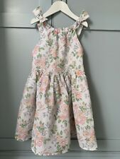M & S Girls Floral Dress 6-7 Years
