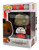 Funko Pop #80 Gold Metallic WWE Mr. T Funhouse Custom Exclusive 1 of 20
