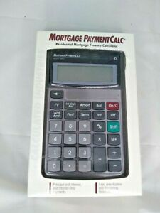 Caclulated Industries Model 3401 Mortgage Payment Calc Calculator