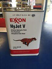 Exxon Hyjet V, Fire Resistant Hydraulic Fluid, 1 Gallon