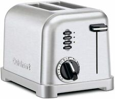 Cuisinart Cpt-160P1 Metal Classic 2-Slice Toaster - Brushed Stainless