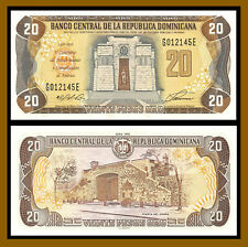 Dominican Republic 20 Pesos Oro, 1992 P-139 Uncirculated Unc