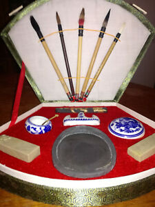 Traditional Chinese Caligraphy Set NEW NEVER USED
