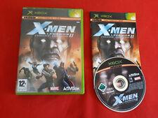 X-MEN LEGENDS II 2 L'AVENEMENT DE L'APOCALYPSE MICROSOFT XBOX COMPLET PAL VF