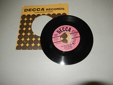 GARY CROSBY CHEER LEADERS mambo in the moonlight/got my eyes on you DECCA    45