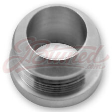 - 16 AN 16AN MALE ALUMINUM WELD ON FITTING BUNG MADE IN THE USA
