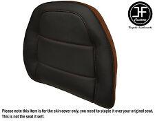 STYLE2 BROWN BLACK VINYL CUSTOM FOR HONDA GOLDWING GL 1500 88-00 BACKREST COVER