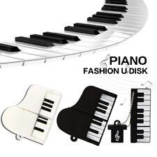 Silicon Piano USB Flash Drives U Disk Stick 32GB 16GB 8GB Media Storage