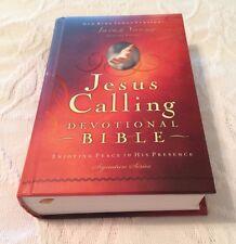 Jesus Calling - Devotional Bible - Hard Cover - 1982 - New KJV
