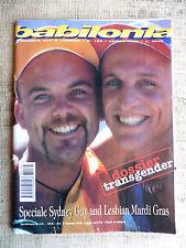 BABILONIA mensile gay e lesbico n.165 aprile 1998 Dossier transgender
