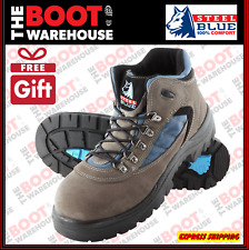 Steel Blue, WAGGA, 312207, Steel Cap Safety Work Boots,  Hiker, Anti-Static.