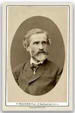 Opera Virtuoso/Composer GIUSEPPE VERDI Vintage Photo A++ Reprint Cabinet Card
