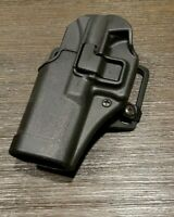 BlackHawk Serpa CQC Concealment Holster for Glock 17/22, Right Hand, Black