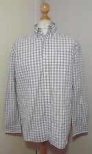 Mens Timberland Long Sleeve Check Shirt Size Large to XL Chest 46''