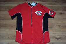 CINCINNATI REDS NEW MLB MAJESTIC TEAM LEADER JERSEY