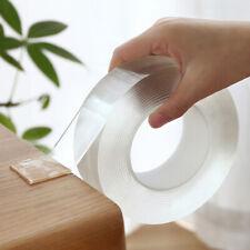 Multi-Function Nano Magic Tape Transparent Reusable Traceless Fixed Double 1M