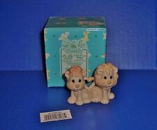 Precious Moments A Tail of Love Two By Two Lions  2X2 NIB