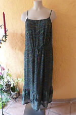 SAHNESTÜCK: TRAUMfarben Romantik Kleid MAXIMA Gr. 38 NEU! fließend, bunt