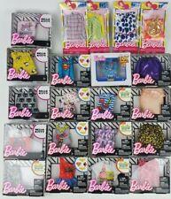 Barbie clothing packs lot of 2 styles may vary shirt skirt tops bottom licensed