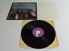 Deep Purple Machine Head Vinyl LP + Insert A1U B1U UK 1st Pressing - EX