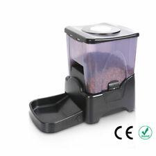 PF-10A High Capacity Portion Control Automatic Pet Feeder Food Dispenser Black
