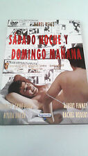 """DVD """"SABADO NOCHE Y DOMINGO MAÑANA"""" COMO NUEVA SHIRLEY ANNE FIELD ALBERT FINNEY"""