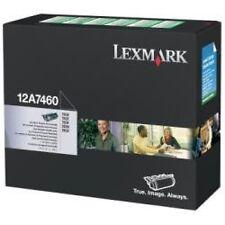 TONER LEXMARK PER T630 632 634 DA 5K 12A7460 0734646118125 originale