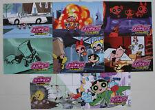 Powerpuff Girls The Movie Spanish lobby card set 8 Craig McCracken animation
