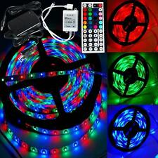 RVB 3528 5M 300 LED SMD LED Light Strip 12V étanche 44 KEY contrôleur IR Hot  EH