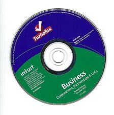 2012 TurboTax BUSINESS Corporations LLC Trusts Partnerships 1099s Intuit Windows