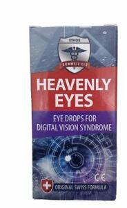 Heavenly Ethos Eye Drops for Computer & Digital Syndrome Vision Strain