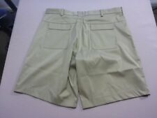 038 MENS NWOT NIKE GOLF RELAXED FIT OLIVE STRETCH CASUAL SHORTS SZE 36 $100 RRP.