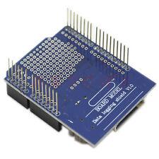 Grabadora de registro del registrador de datos módulo shield V1.0 para Arduino Uno Tarjeta Sd Nuevo
