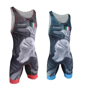 Tuta da wrestling BERKNER ITALIA  Wrestling Suit Trikot Singlet Ringertrikot